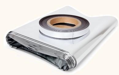 radiatorfolie met magneettape