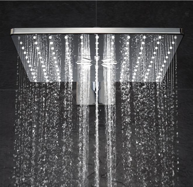 luxe waterbesparende douche