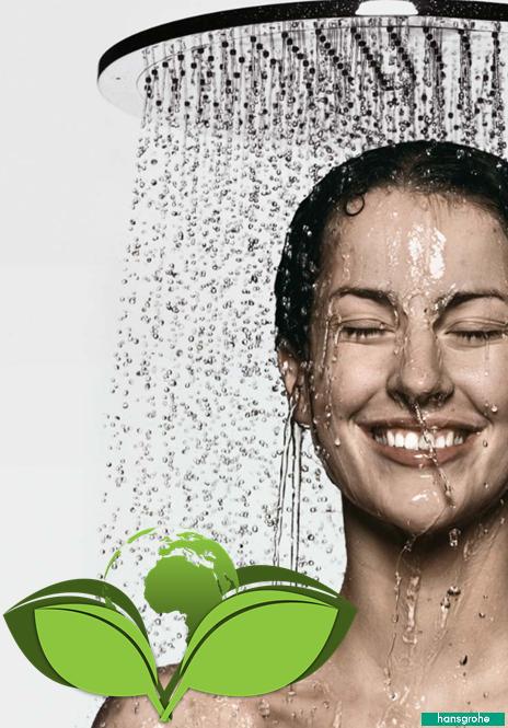 waterbesparende regendouche