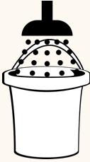 waterverbruik douche meten