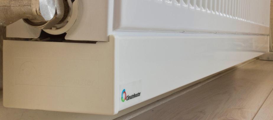 gas besparen radiatorventilator