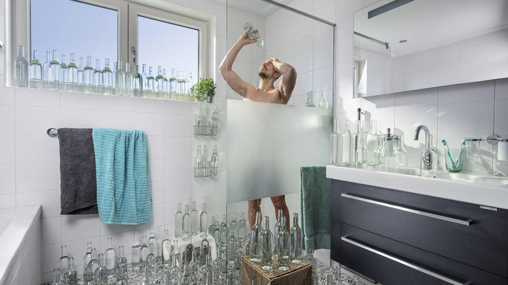zuinig met drinkwater douchen