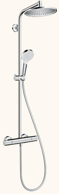 waterbesparende regendouche set